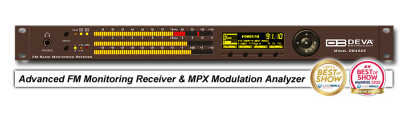 DB4005 - SDR-Based FM Radio Modulation Analyzer and Monitoring Receiver