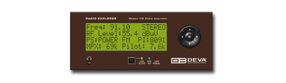 Radio Explorer - Mobile FM Radio Analyzer